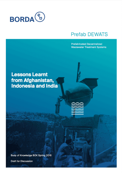 Body of Knowledge: Prefab DEWATS - Lessons Learnt from Afghanistan, Indonesia and India