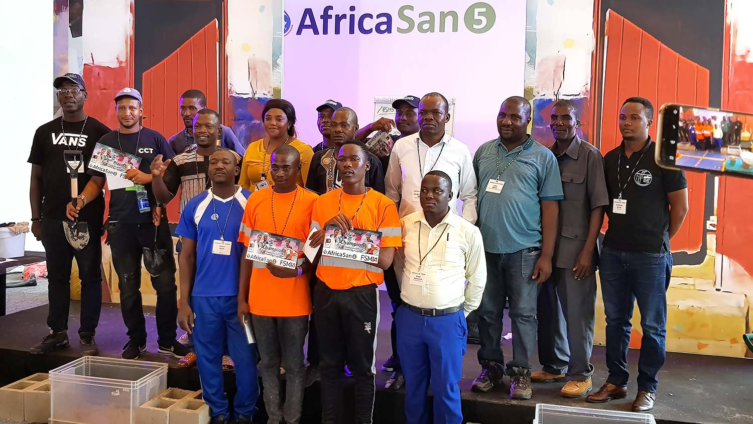 FSM5/AfricaSan5: Winners of the Pit Latrine Emptying Challenge