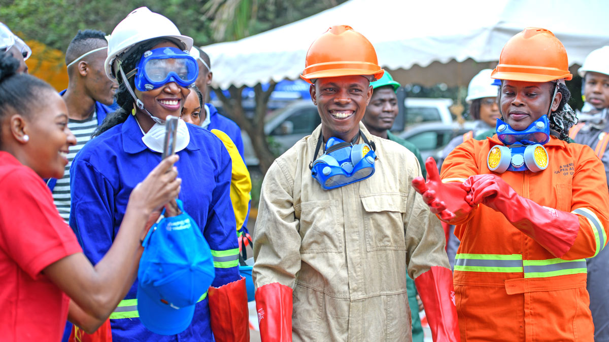 Uganda-AfWA-skills-challenge-suited-up